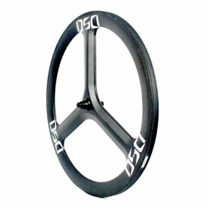 T50T Tri Spoke Front Wheel Tubular